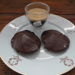 Kaffebiskvier made with Carte Noire's new coffee capsules.