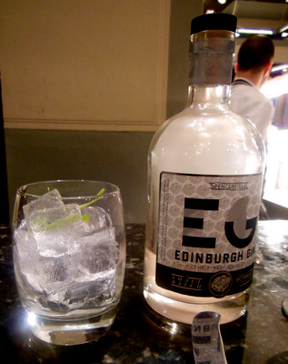 Elder Edinburgh - served smoking in the bottle
