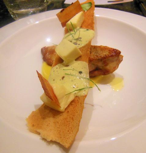 Guinea Fowl Caesar Salad