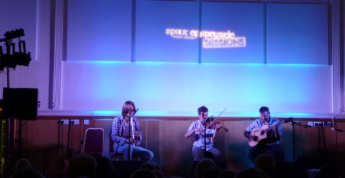 Spirit of Speywide Sessions Concert with Charile McKerron and his band