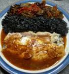Mackerel with Kikkoman soy sauce