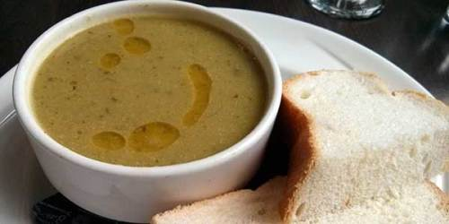 Soothing, warming and all the things soup should be on a blustery autumn day.