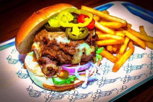 Boozy Cow Burger