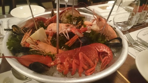 Beautiful lobster, perfectly cooked