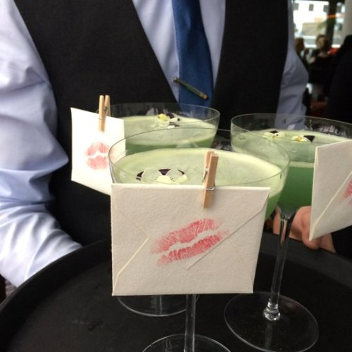 Chaophraya's cocktail - sealed with a kiss