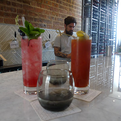 Michael has developed a number of interesting new cocktails as well as Chop House's own beer.