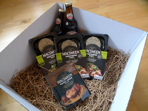 Haggis, whisky sauce and Innis & Gunn beer - thank you, MacSweens!