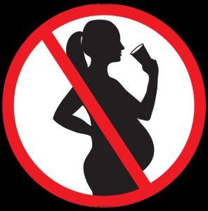 No drinking pregnancy symbol