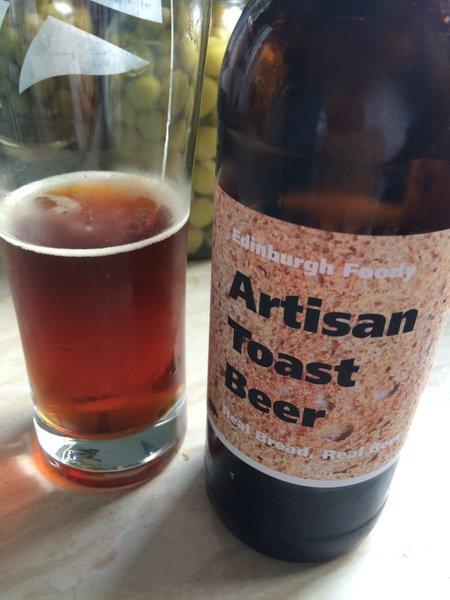 The unique Edinburgh Foody Toast Beer