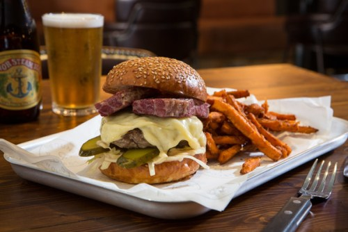 Reuben burger Foundry 39