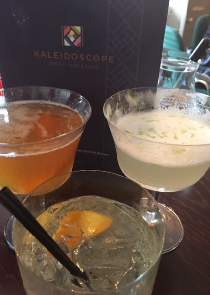 A trio of cocktails at Kaleidescope slipped down too easily on a hot, spring evening