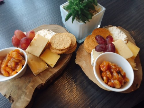 Beware the cheese board - it's enough for 4 - 6 people