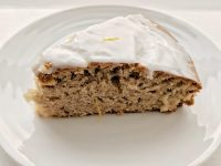 Earl Grey cake with Teasmith gin icing. A very adult cake.