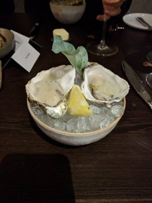 Lindesfarne oysters