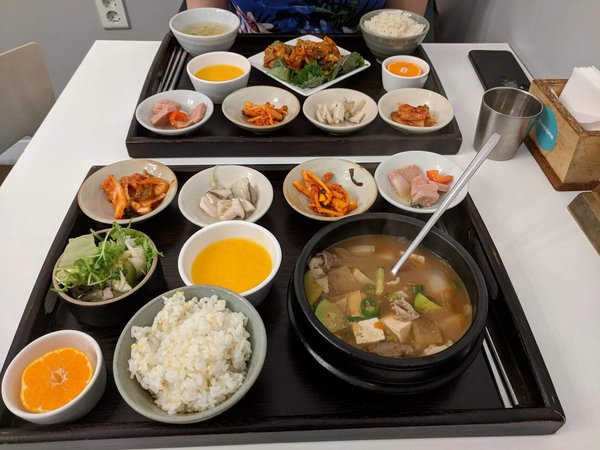 An outstanding meal at Awesome, Gyeongju