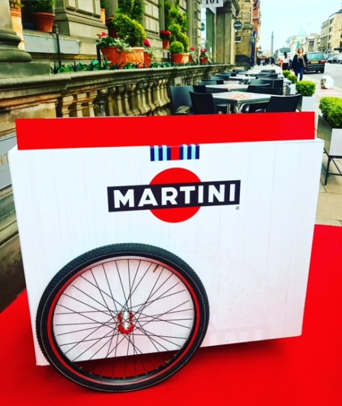 Any time, any place, anywhere, it's Martini