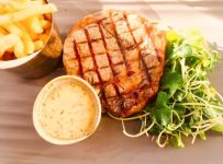 Sometimes a steak and chips is what is called for, despite so many other delicious choices on the menu