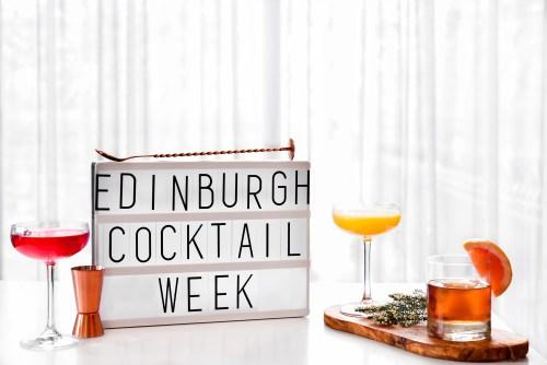 Join in the fun at Edinburgh Cocktail Week