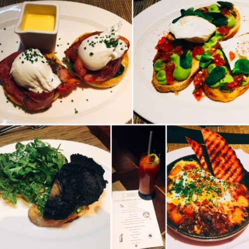 Small and big plates at the Galvin Brasserie brunch - you won't leave hungry