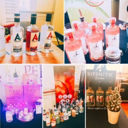 A plethora of gins at the Gin Lounge Festival