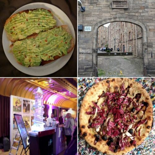 Breakfat in bed, a brewery and distillery walking tour, pizza and cocktails. A very foody day.