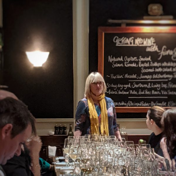 Fiona Beckett told us a lot about getting into wine, both professionally and for fun. I like the idea of a wine club, like a book club.