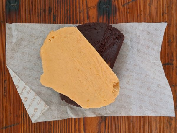 Behold the beauty! Smooth, uniformly tectured, fully flavoured hand-worked fudge. Be still my beating heart.