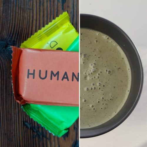 Human Food can be eaten as it is, in smoothies or as part of a cereal breakfast. I used the green bar in a smoothie.