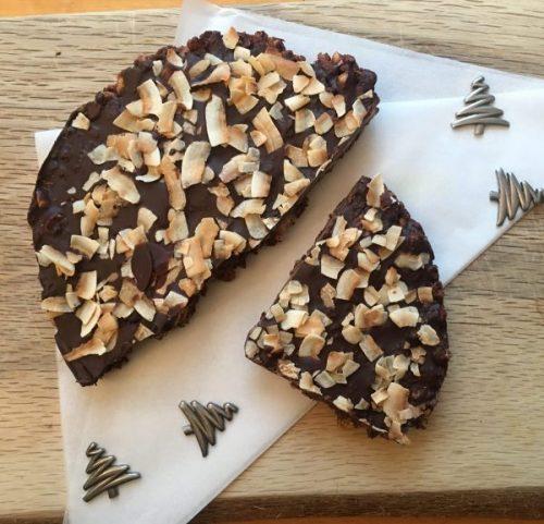 Nutty, chocolatey, no-bake.