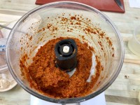 Red Thai curry paste - I'll no longer be resorting to a shop bought paste - this was so easy