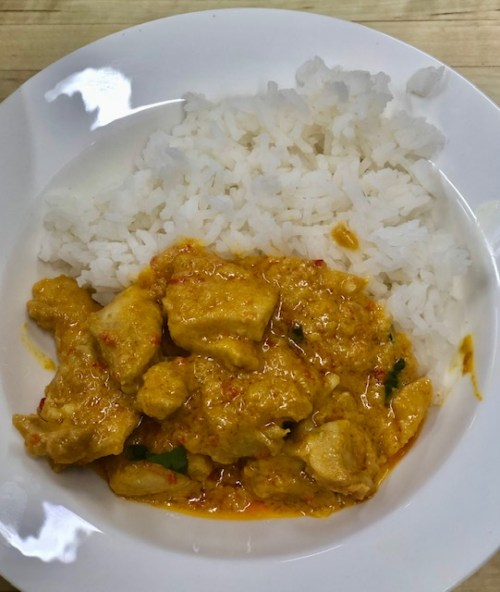 Panaeng Curry - a quick. easy, mid-week dinner