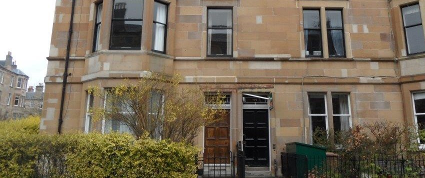 A typical Edinburgh tenement building loved by HMO landlords.