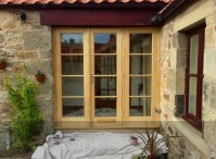 Edinburgh's Premium Wooden Glazed French Doors
