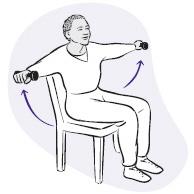 Exercises For Seniors: Upper Arm Exercises For Seniors