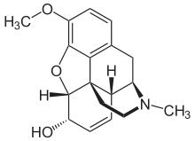 Codeine Molecule in 3D using Jmol