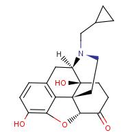 Naloxone Molecule in 3D using Jmol
