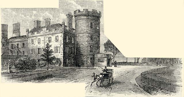 Barton House Engraving