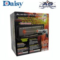 AIRSOFT PISTOL WITH LASER SIGHT AND MOVING TARGET