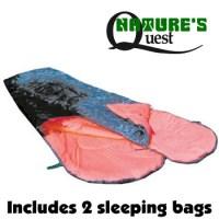 DOUBLE SLEEPING BAGS