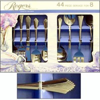 44 PIECE 18/0 STAINLESS STEEL FLATWARE SET