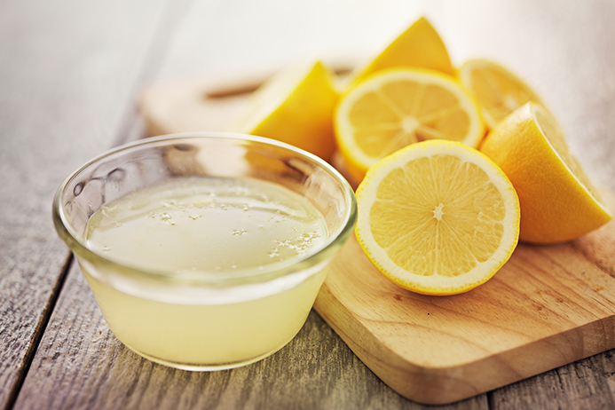 Lemon Water in Morning