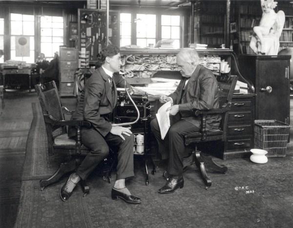 Thomas Edison Desk