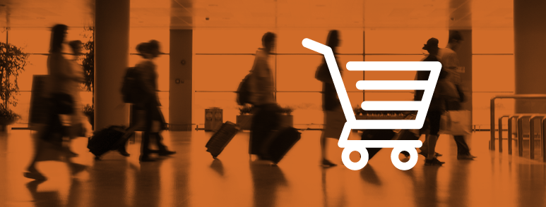 Consumer Surveys - people walking through lobby