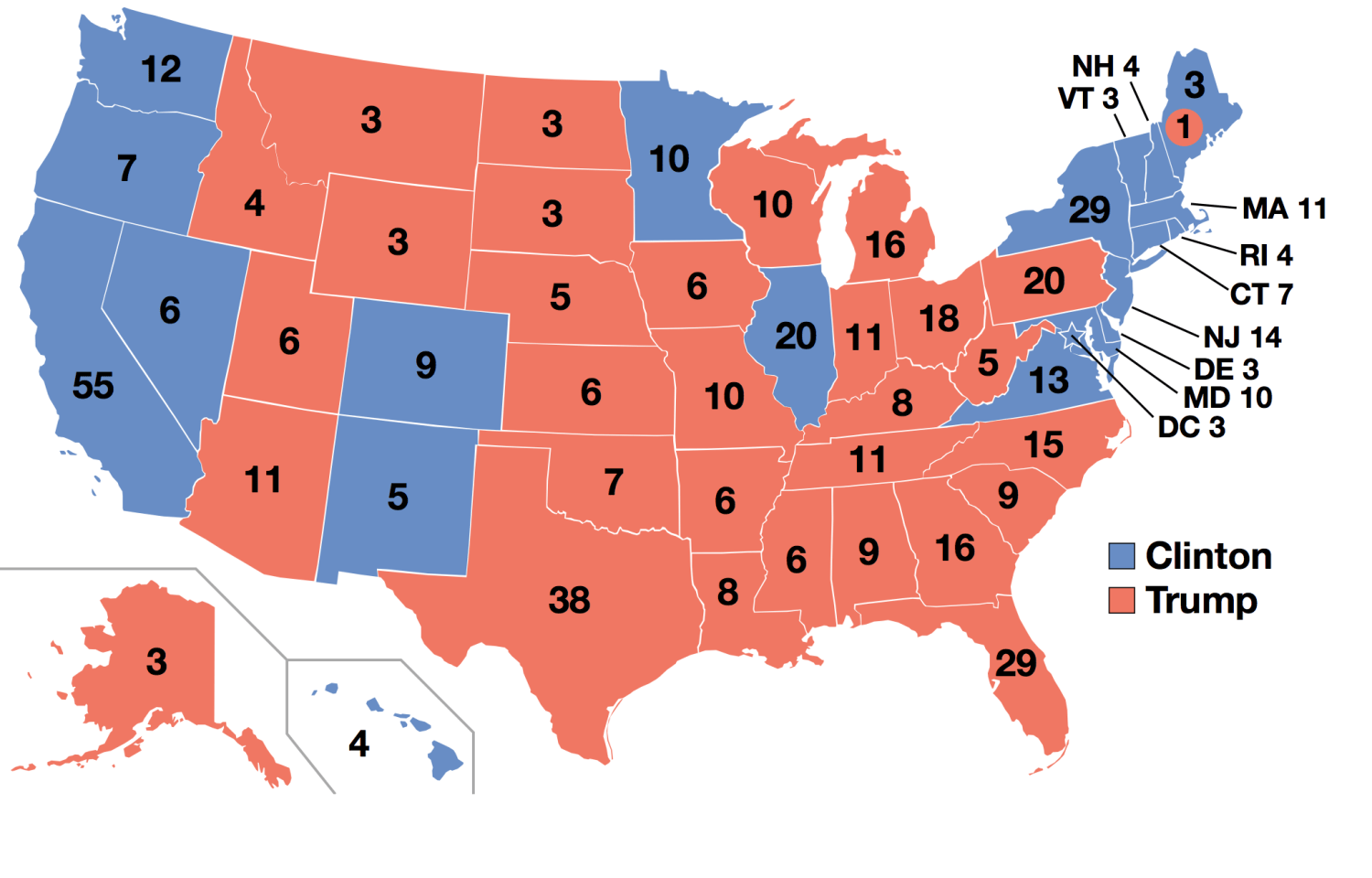 By Gage - 2012 Electoral College map, CC BY-SA 4.0, Link