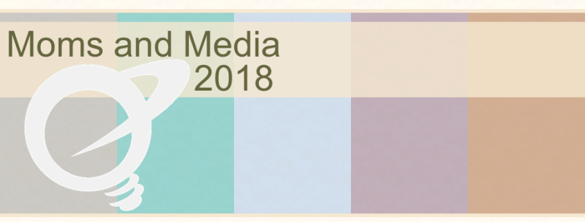 Moms and Media 2018 title page