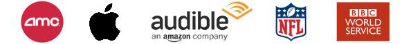 AMC-Apple-Audible-NFL-BBCWorldService