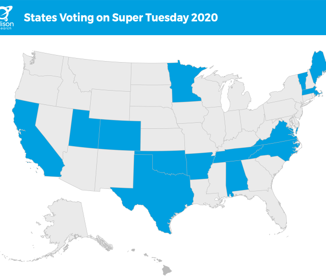 Super Tuesday What Is It And What Can We Expect Edison Research