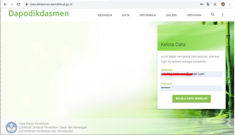 Login ke Aplikasi Dapodik versi web-01