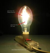 The Mercury Vapor Lamp - How it works & history