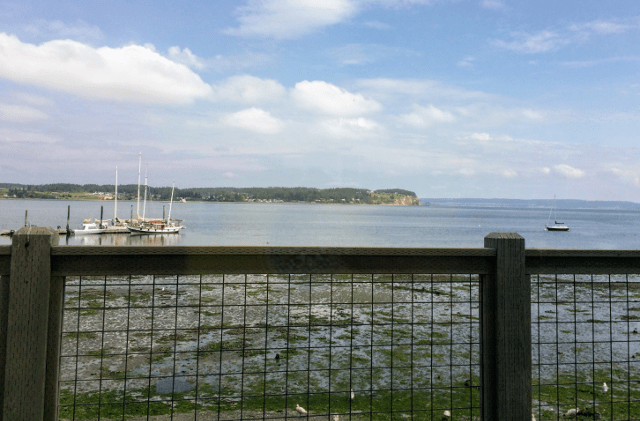 View from Front Street Grille in Coupeville, WA